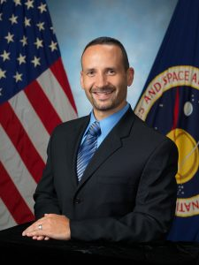Tomas Gonzalez-Torres in his official NASA photo when he served the agency as a flight director.